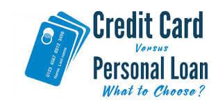Credit Card vs Loan